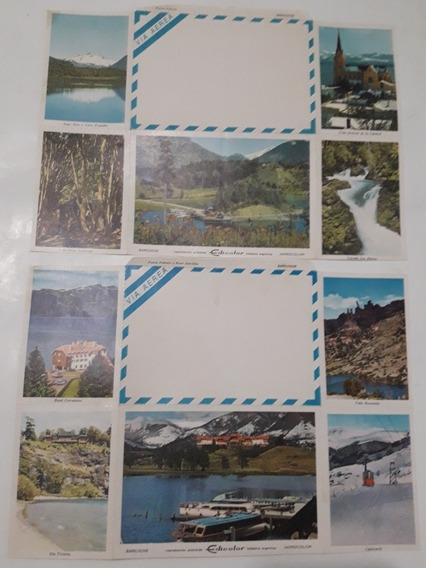 Postales Antiguas Bariloche Edicolor Lote X 2u. Total 10u.