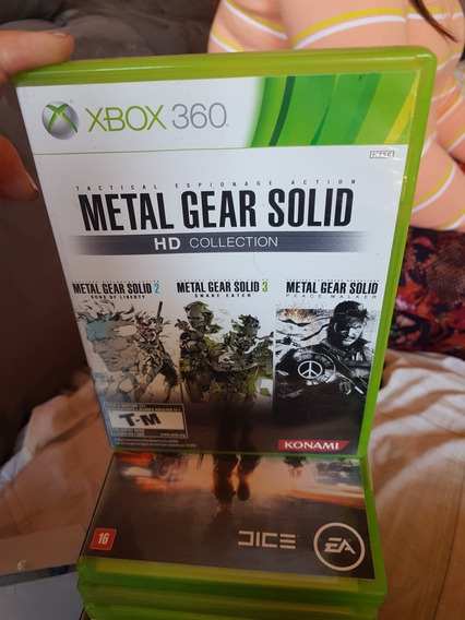Metal Gear Solid Hd Colection Original Xbox 360