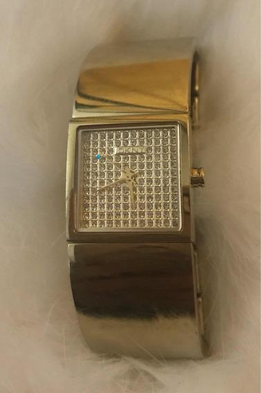 Remato Elegante Reloj Para Dama Dkny Ny8040 Serie Dress Oro