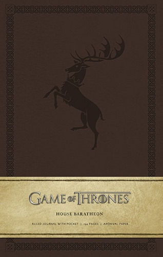 Journal Game Of Thrones: House Baratheon Libreta Pasta Dura