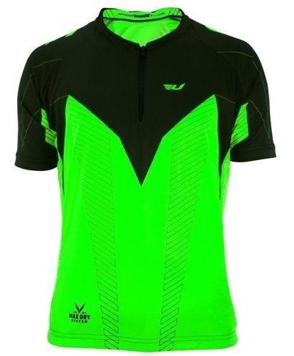 Camisa Ciclismo Ultra Bikes Manga Curta Tam M Verde