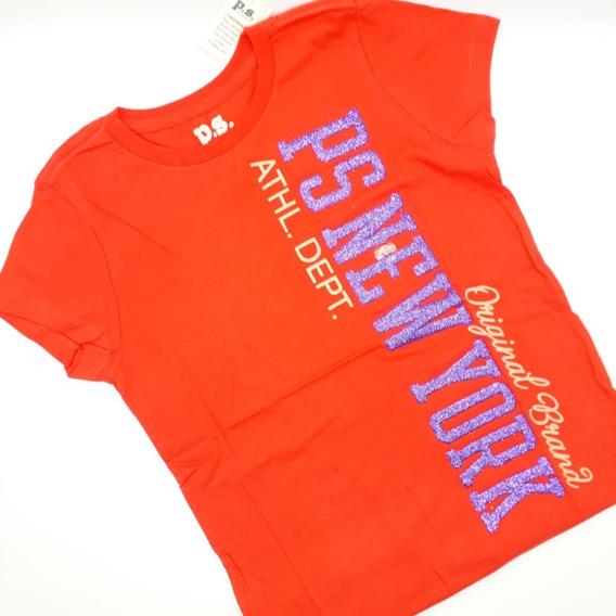 Camiseta Infantil Manga Curta P.s. Aéropostale Original