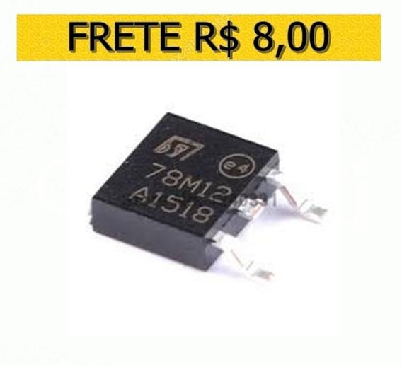 Regulador De Tensão 78m12 12v 7812 Smd To-252 Original