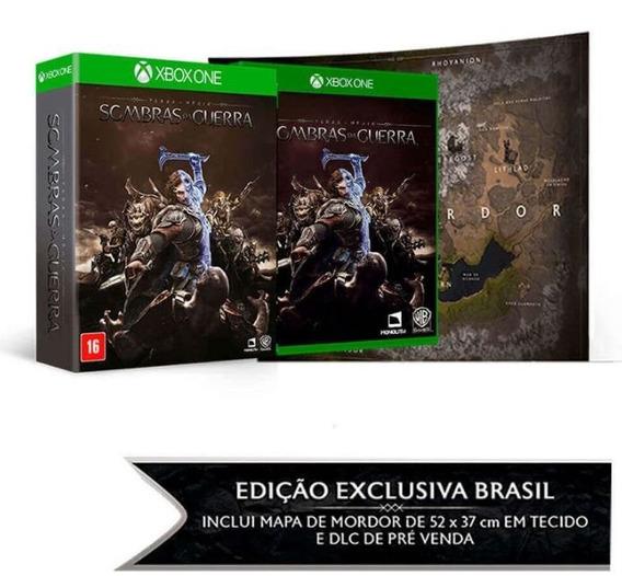 Sombras Da Guerra Edição Limitada + Mapa Xbox One Física