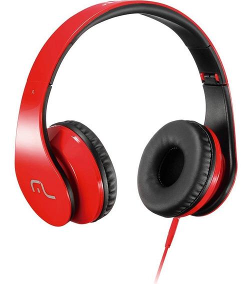 Headphone Com Microfone Para Smartphone E Pc - Multilaser