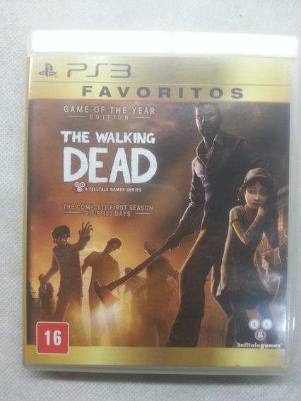 Jogo Ps3 Midia Fisica Usado Original The Walking Dead