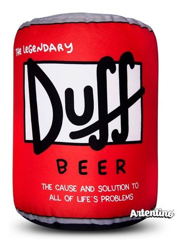 Puff Sillón Banco Lata Cerveza Duff Simpson Regalo Original