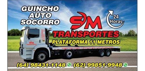 Guincho Plataforma 11 Mts Para Pesados Caminhões E Maquinas