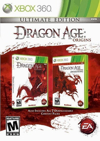 Jogo Dragon Age Origins Ultimate Edition Xbox360 Ntsc Origin