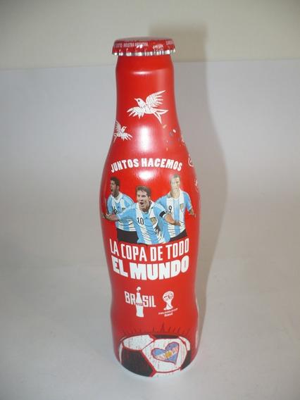 G. Pozzolo Coca-cola Botellitas Copa Del Mundo Brasil Llena