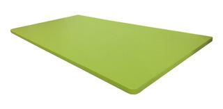Mesa Dobrável Parede Bancada Verde Limão 90x45cm