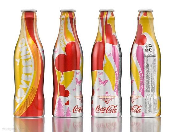 Botella Coca Cola Edición Especial Lovebeing. Colección M5