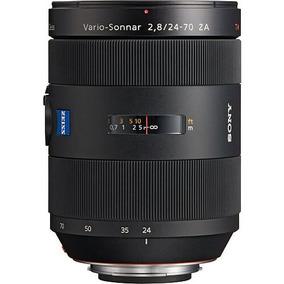 Lente Sony 24-70mm F/2.8 Carl Zeiss T* Standard Zoom A-mount