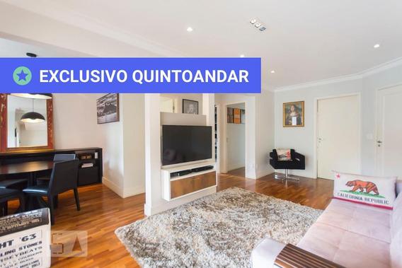 Apartamento No 5º Andar Mobiliado Com 2 Dormitórios E 2 Garagens - Id: 892954650 - 254650
