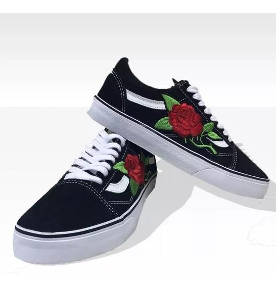Tênis Vans Old Skool Floral Top Feminino Queridinho