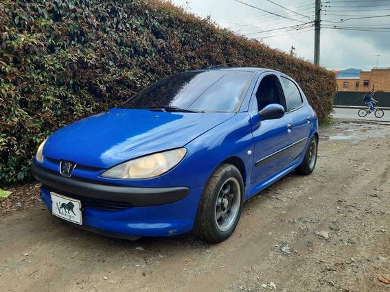 Peugeot 206 Xr 1.400 Cc Mt 2002