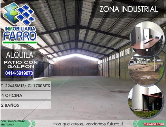 Alquiler De Galpon En La Zona Industrial Al01-0013zi-ro