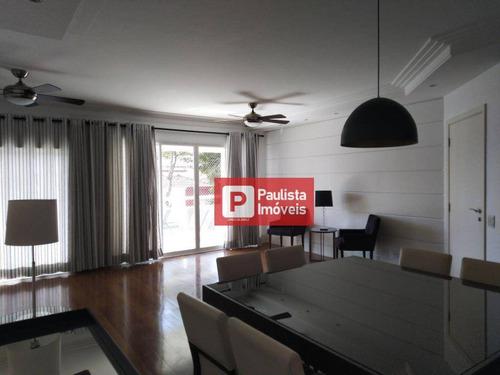 Apartamento Com 4 Dormitórios Para Alugar, 170 M²  - Campo Belo - São Paulo/sp - Ap29347