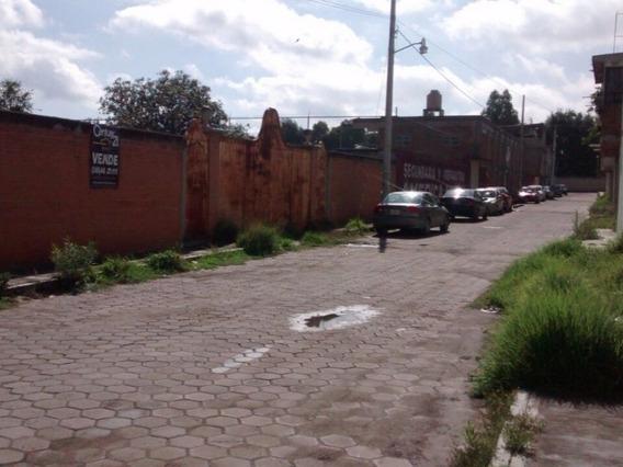 Atención Constructores! Terreno Habitacional En Chiautempan