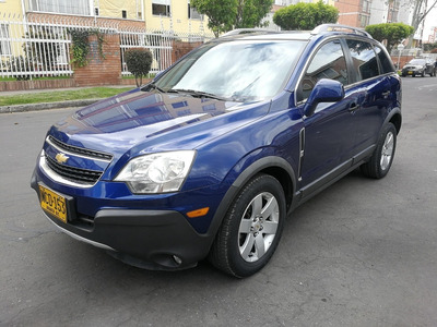 Chevrolet Captiva Sport Fe Mt2400cc Azul Luxo Aa Ab Abs Dh