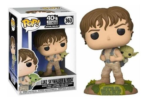 Funko Pop Star Wars Luke Skywalker Y Yoda 363 Nuevo Original