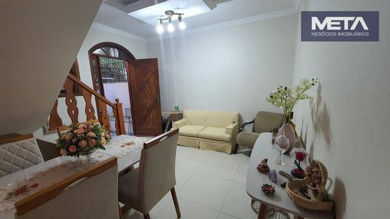 Espetacular Residência, 03 Dormitórios, Praça Saiqui - Ca0063