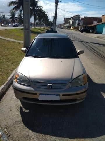 Honda Civic 2002 1.7 Com Gnv