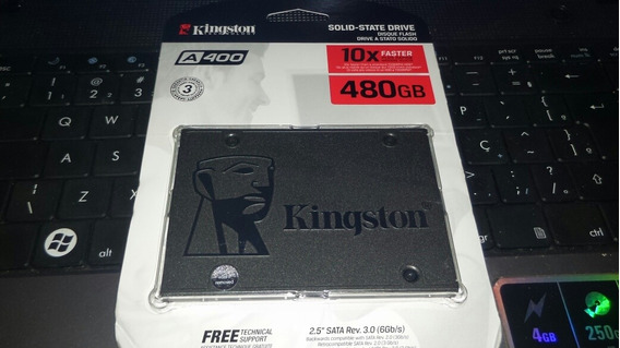 Ssd Kingston 480gb Novo