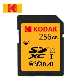 Tarjeta Kodak U3 Sd Tarjeta De Memoria De 256gb Uhs-ii Alta