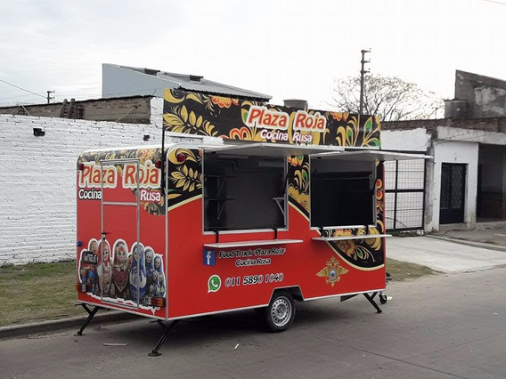 Trailer Gastronomico Food Truck 4mts Dako Trailer