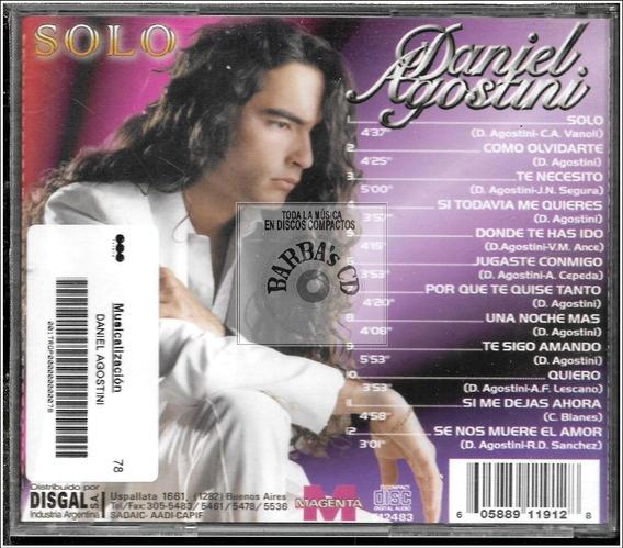 Daniel Agostini - Solo ( Promo, Como Nuevo ) Leer Info
