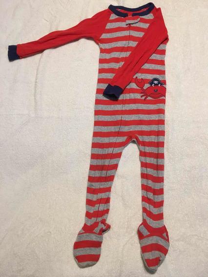Impecable Pijama Entero Con Piecitos Carters Talle 3t 3 Año