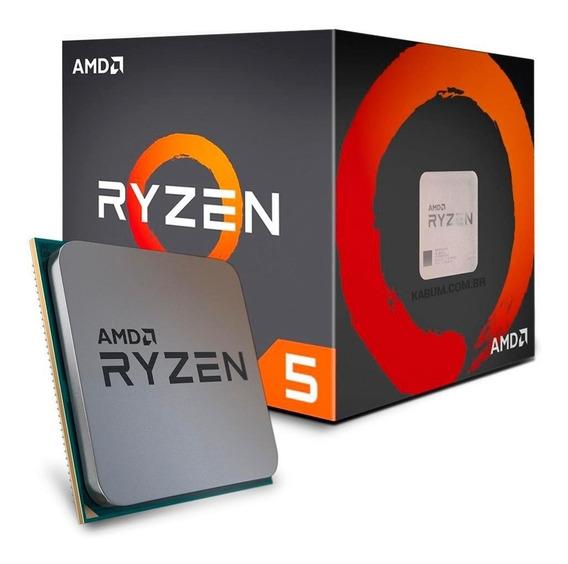 Processador Ryzen 5 1600 Cache 19mb 3.2ghz 3.6ghz Max Turbo