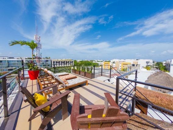 Penthouse En Renta Vac O Largo Plazo En Playa Del Carmen