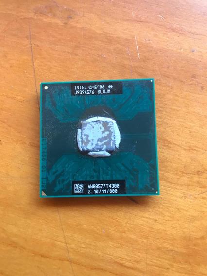 Processador Intel Dual Core T4300 2.1ghz 1mb 800mhz