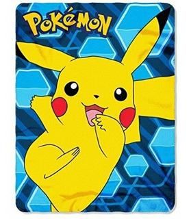 Sabana Manta De Pikachu Pokemon Original **envio Gratis