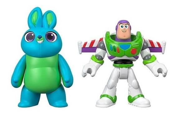 Imaginext Disney Pixar Toy Story 4 Bunny E Buzz Lightyear