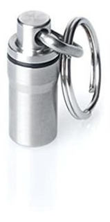 Gus Mini Pill Fob, Made In Usa, Stainless Steel Keychain Pil