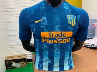 Camisa Atlético De Madrid (escolha Sua Personalização)