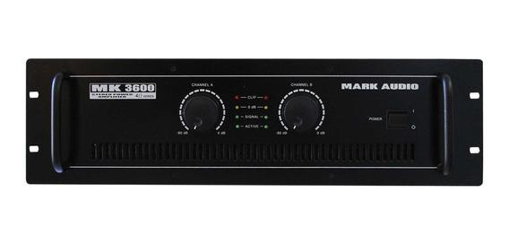 Amplificador De Audio Mark Audio Mk3600