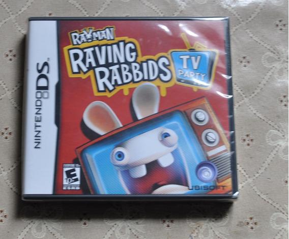 Rayman Raving Rabbids - Nintendo Ds