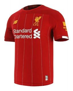Camiseta Futbol Liverpool Titular Nuevo Original 2019 2020