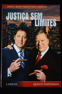 Justiça Sem Limites Box Dvds Quinta Temporada Última