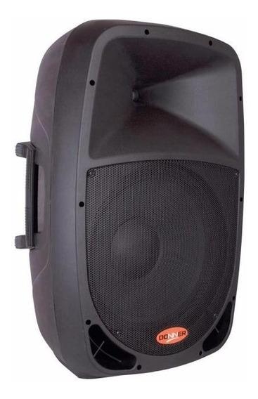 Caixa Som Acústica Ll Audio Donner Dr808 Ativa 80w Rms
