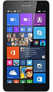 Microsoft Lumia 535 Seminovo 550 Reais Junto Com Capinha