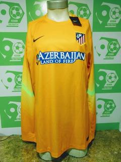 Camiseta Arquero Atlético Madrid 2014-2015 Amarilla Nike Nue