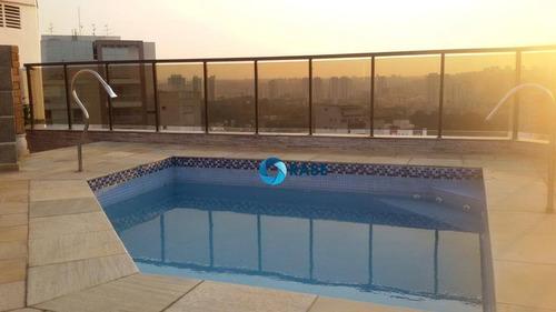Imagem 1 de 24 de Cobertura Com 3 Dormitórios À Venda, 360 M² Por R$ 2.450.000 - Chácara Santo Antônio (zona Sul) - São Paulo/sp - Co0462