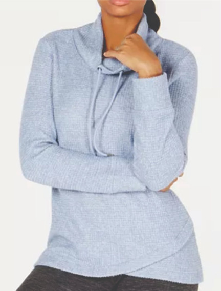 Outlet Ideology Sweater Mujer Azul Talla M