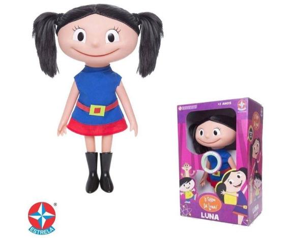 Boneca Sou Luna Que Fala 40 Cm - Estrela