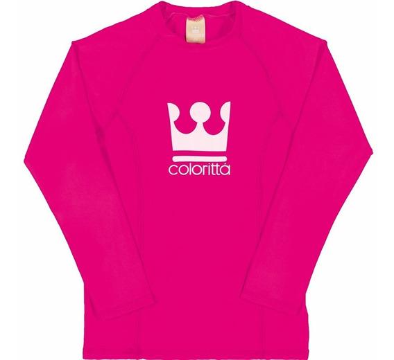 Camiseta Infantil Feminino Supreme Proteção Premium Uv 50